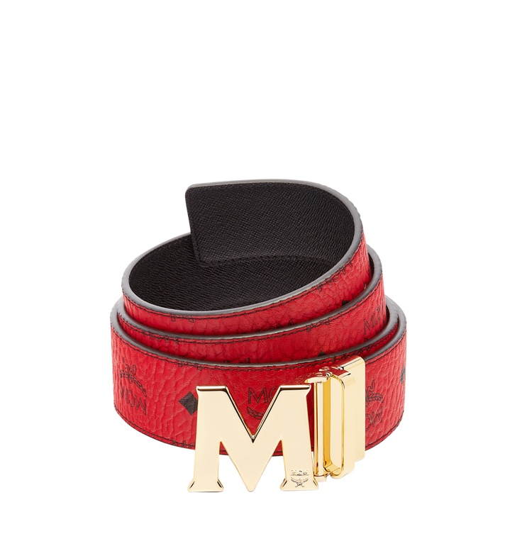 "MCM Claus M Reversible Belt 1.75"" in Visetos Alternate View 1"