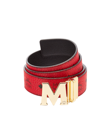 "MCM Claus M Reversible Belt 1.75"" in Visetos Alternate View"