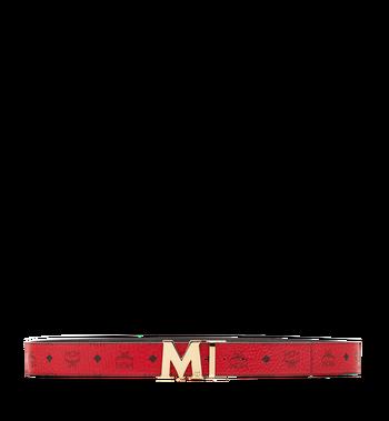 "MCM Claus M Reversible Belt 1.75"" in Visetos Alternate View 3"