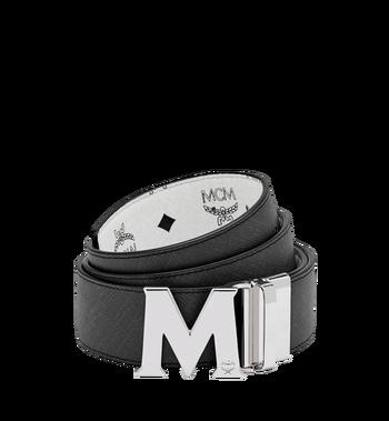 "MCM Claus M Reversible Belt 1.75"" in Visetos Alternate View 2"