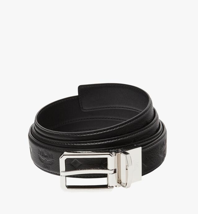 "Reversible Dress Belt 1.2"" in Monogram Leather"