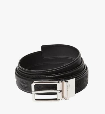 "Reversible Dress Belt 1.2"" in Monogram Leather"
