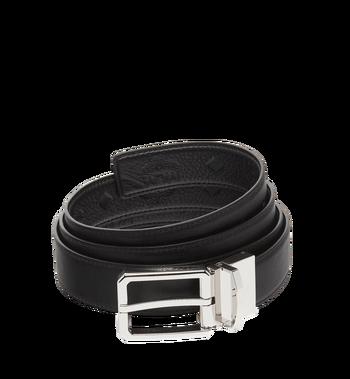 "MCM Reversible Dress Belt 1.2"" in Monogram Leather MXB7ADB13BK001 AlternateView2"