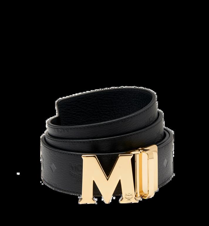 "MCM Claus M Reversible Belt 1.75"" in Monogram Leather AlternateView"