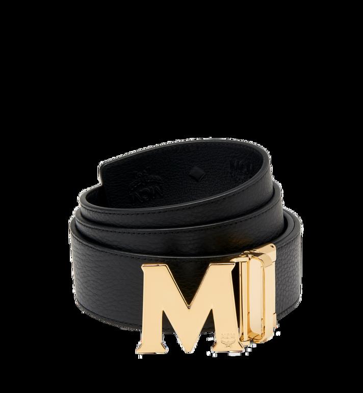 "MCM Claus M Reversible Belt 1.75"" in Monogram Leather MXB7AMM18BK130 AlternateView2"