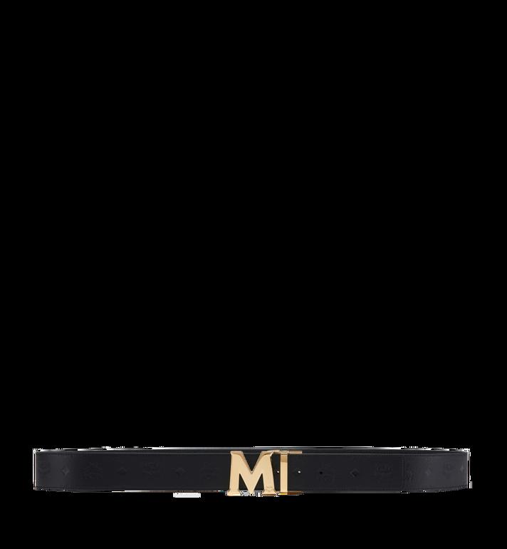 "MCM Claus M Reversible Belt 1.75"" in Monogram Leather AlternateView3"