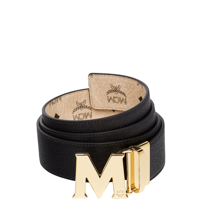 "MCM Claus M Reversible Belt 1.75"" in Visetos MXB7AVI04IG001 AlternateView2"