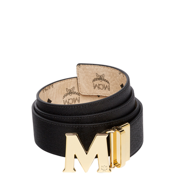 "MCM Claus M Reversible Belt 1.75"" in Visetos Alternate View 2"