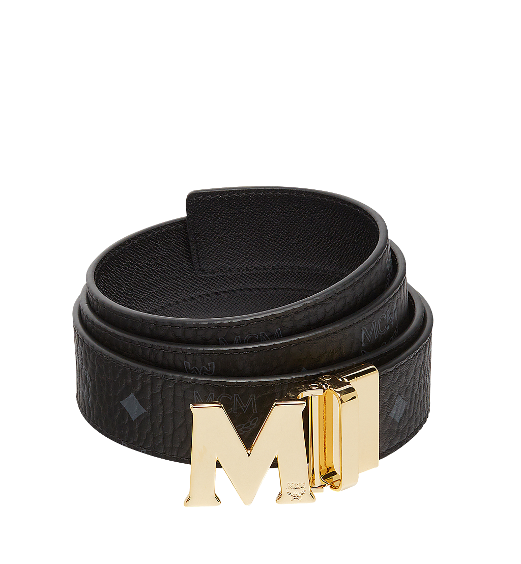 MCM Claus M Wendegürtel 3,8 cm in Visetos Black MXB7AVI05BK001 Noch mehr sehen 1