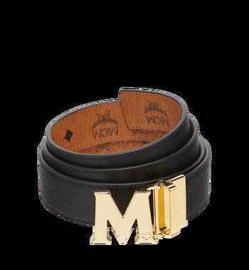 "MCM Claus M Reversible Belt 1.5"" in Visetos Cognac MXB7AVI05CO001 Alternate View 2"