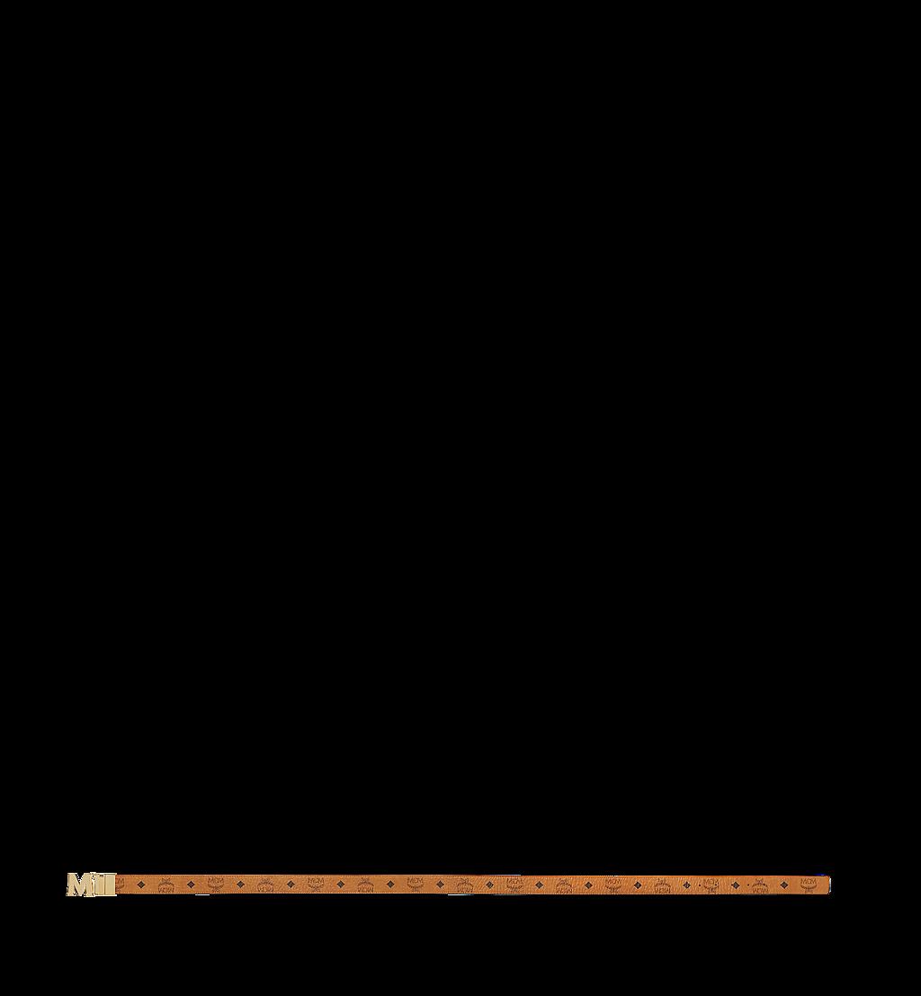 MCM Claus M Reversible Belt 3.8 cm in Visetos Cognac MXB7AVI05CO001 Alternate View 2