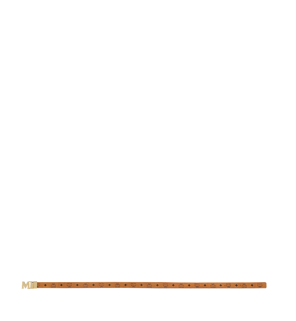 MCM Claus M Wendegürtel 3,8 cm in Visetos Cognac MXB7AVI05CO001 Noch mehr sehen 2
