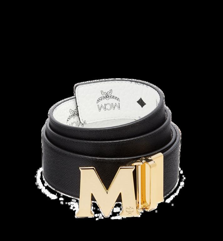 """MCM Claus M Reversible Belt 1.75"""" in Visetos White MXB7SVI04WT001 Alternate View 2"""