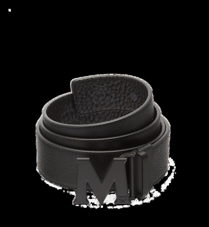 "MCM Claus M Reversible Belt 1.75"" in Visetos MXB7SVI10BK001 AlternateView2"