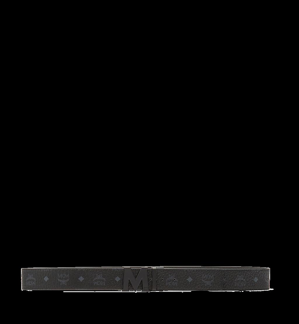 MCM Ceinture amovible Claus M 4,5cm en Visetos Black MXB7SVI10BK001 Plus de photos 2