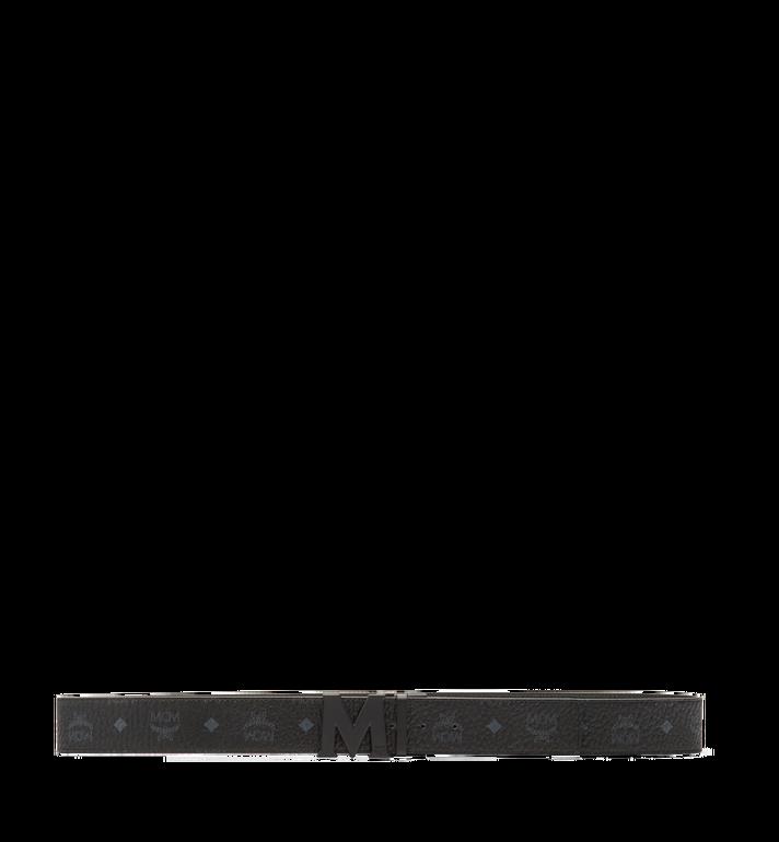 "MCM Claus M Reversible Belt 1.75"" in Visetos Black MXB7SVI10BK001 Alternate View 3"