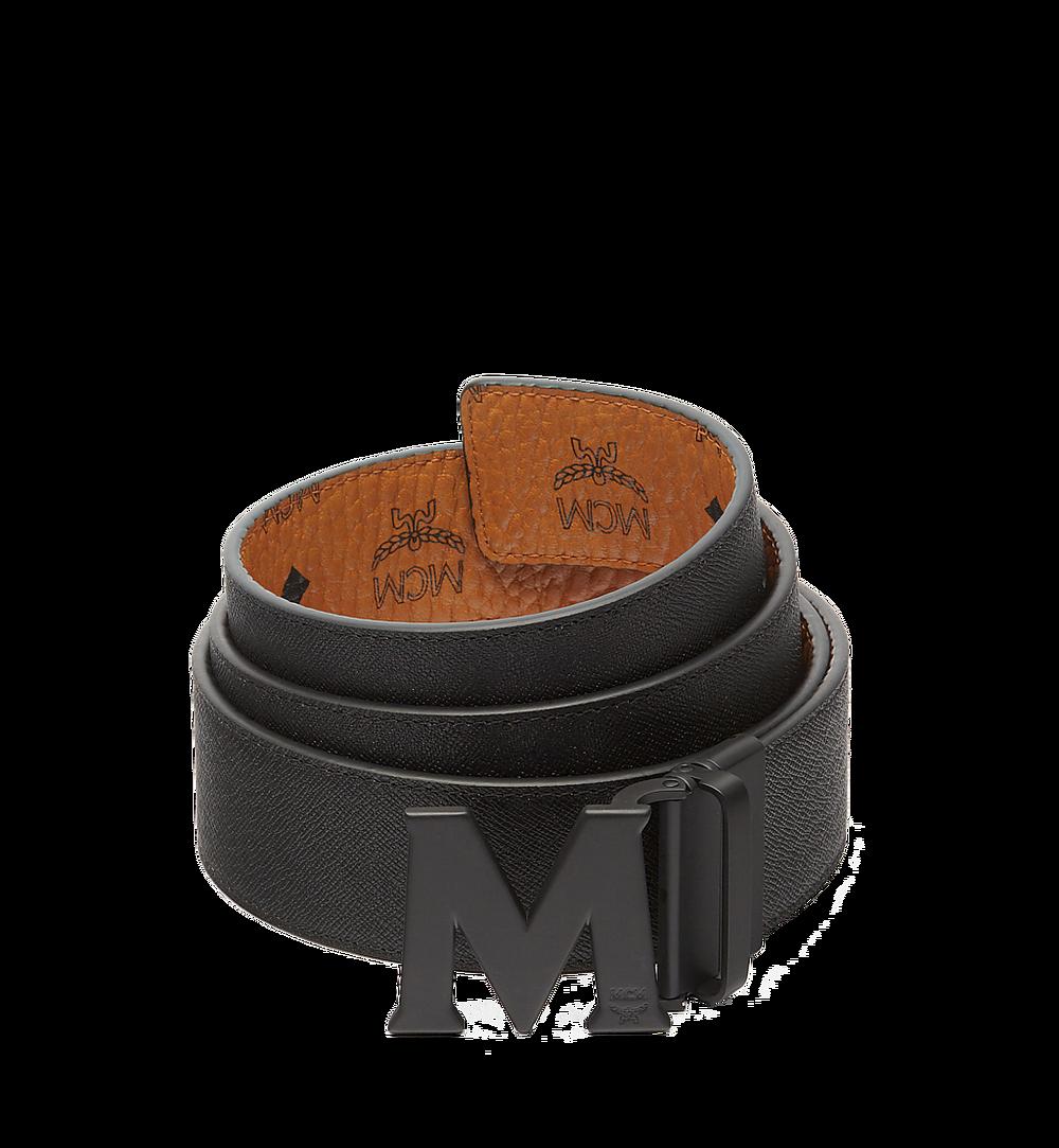 MCM Visetos 系列的 Claus M 1.75 吋可翻轉皮帶 Cognac MXB7SVI10CO001 更多視圖 1