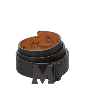 "MCM Flat M Reversible Belt 1.75"" in Visetos Alternate View 2"