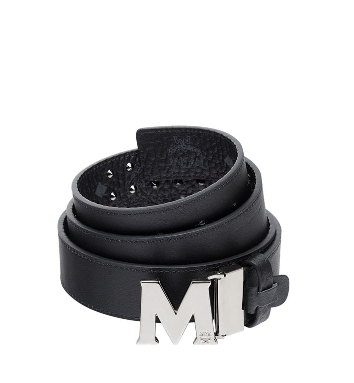 MCM CEINTURE CLAUS M PLATE 3,8 CM EN VISETOS AVEC BORDS CLOUTÉS Alternate View 2
