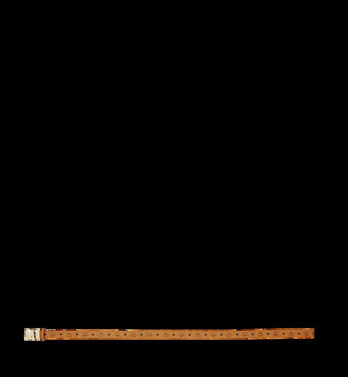 "MCM Claus Flat M Belt 1.5"" in Studded Outline Visetos MXB8AMM29CO001 AlternateView3"