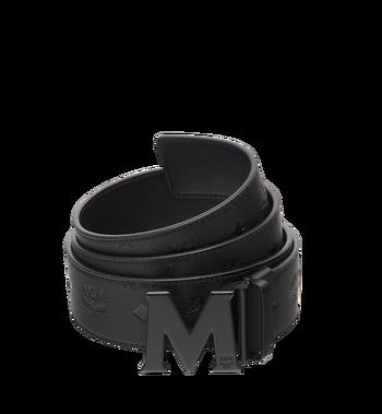 "MCM M Reversible Belt 1.75"" in Monogram Leather MXB8AMM48BK130 AlternateView"