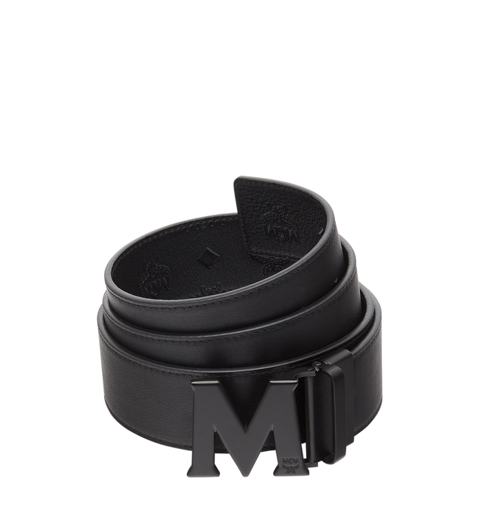 "MCM M Reversible Belt 1.75"" in Monogram Leather MXB8AMM48BK130 AlternateView2"