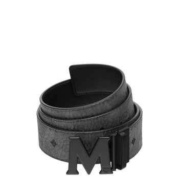 "MCM Claus Reversible Belt 1.75"" in Visetos Alternate View"