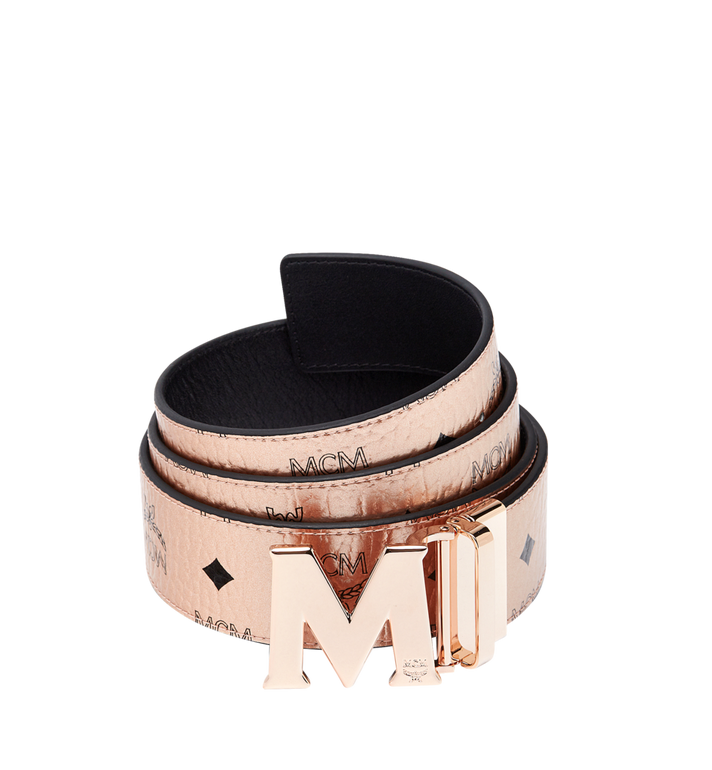 "MCM Claus Reversible Belt 1.75"" in Visetos MXB8AVI25TC001 AlternateView"