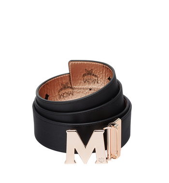 "MCM Claus Reversible Belt 1.75"" in Visetos Alternate View 2"