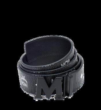 "MCM Flat M Reversible Belt 1.75"" in Visetos Alternate View"