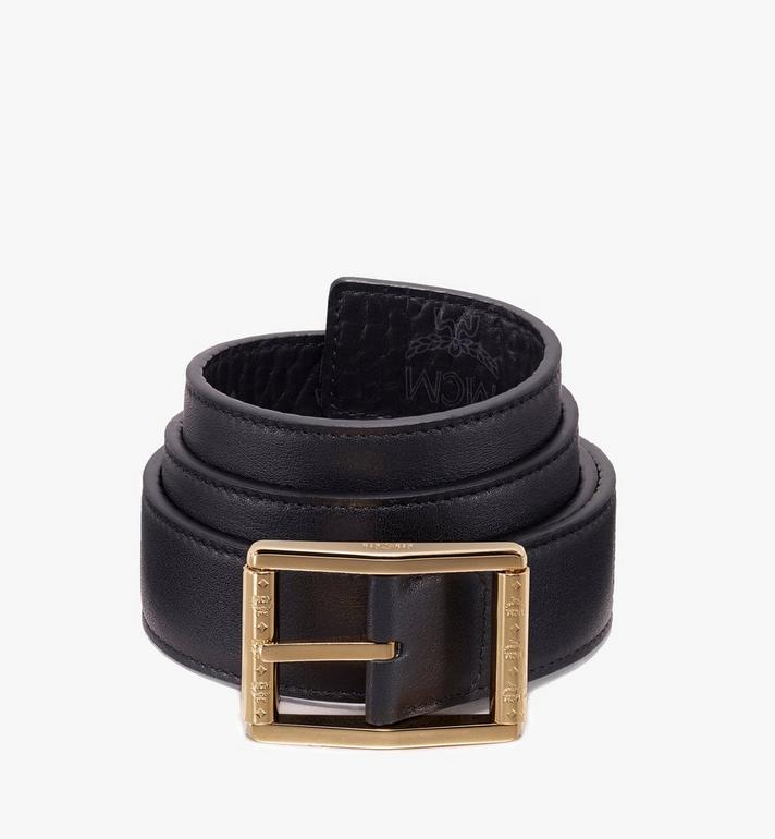 MCM Reversible Belt in Visetos Black MXB9ADB06BK100 Alternate View 2