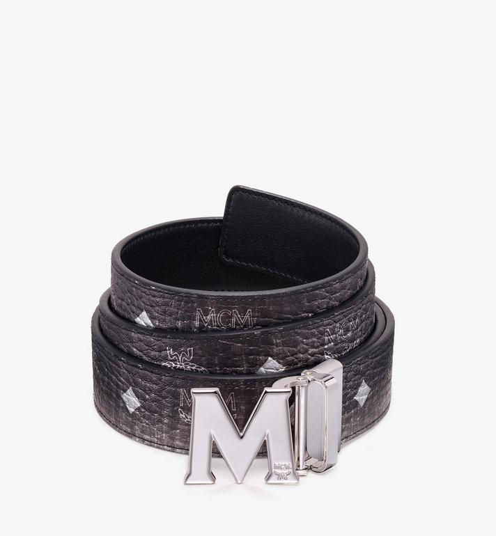 MCM Claus Flat M Reversible Logo Belt Alternate View