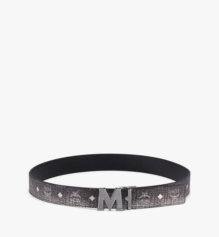 MCM Claus Flat M Reversible Belt in Visetos  MXB9AVI03SV001 Alternate View 3