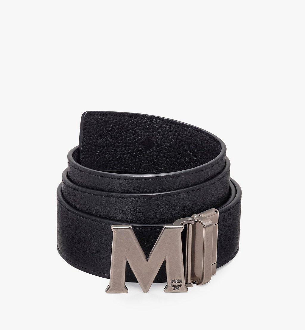 MCM Claus Antique M Reversible Belt Black MXB9AVI16BK001 Alternate View 1
