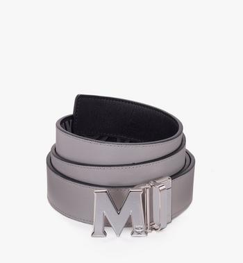 "MCM Claus Flat M Reversible Belt 1.5"" in Logo Leather Black MXB9AVI46BK001 Alternate View 2"