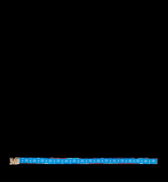 """MCM M Reversible Belt 1.75"""" in White Logo Visetos AlternateView3"""