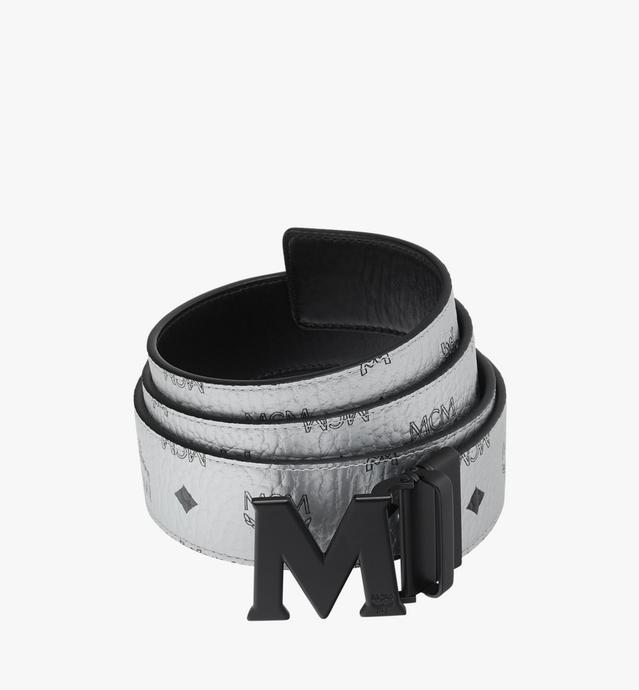 "Black M Reversible Belt 1.75"" in Visetos"