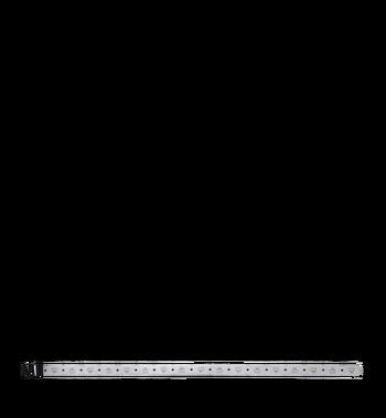 "MCM Black M Reversible Belt 1.75"" in White Logo Visetos MXB9SVI10SB001 AlternateView3"