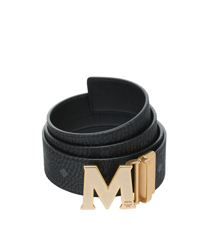 MCM Ceinture réversible Claus Antique M 4,45 cm en Visetos Alternate View 1