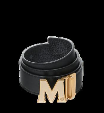 """MCM Antique M Reversible Belt 1.75"""" in Visetos Alternate View 2"""