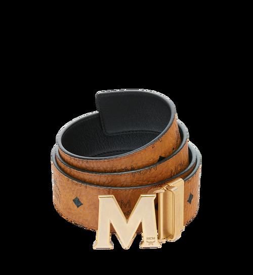 """Antique M Reversible Belt 1.75"""" in Visetos"""