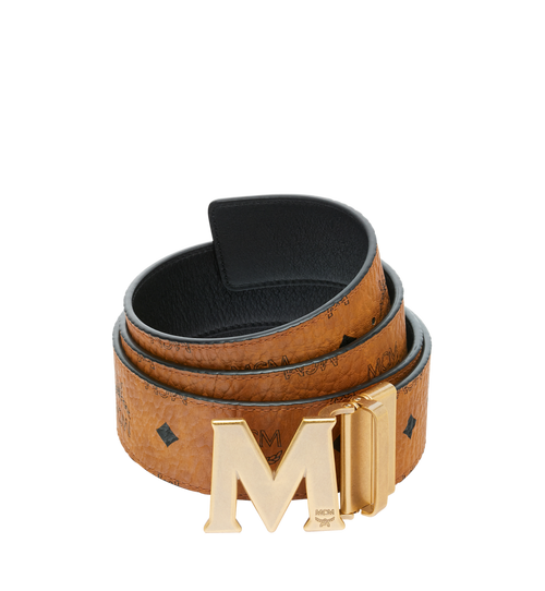 Antique M Reversible Belt 4.5 cm in Visetos