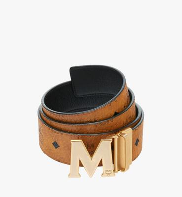 "Antique M Reversible Belt 1.75"" in Visetos"