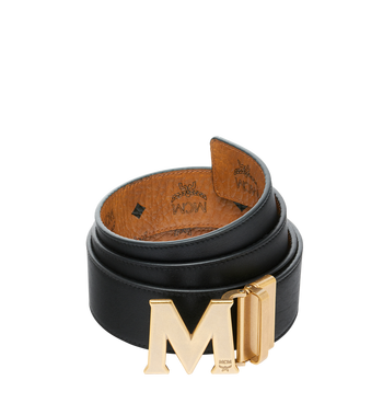 """MCM Antique M Reversible Belt 1.75"""" in Visetos MXB9SVI11CO001 AlternateView2"""