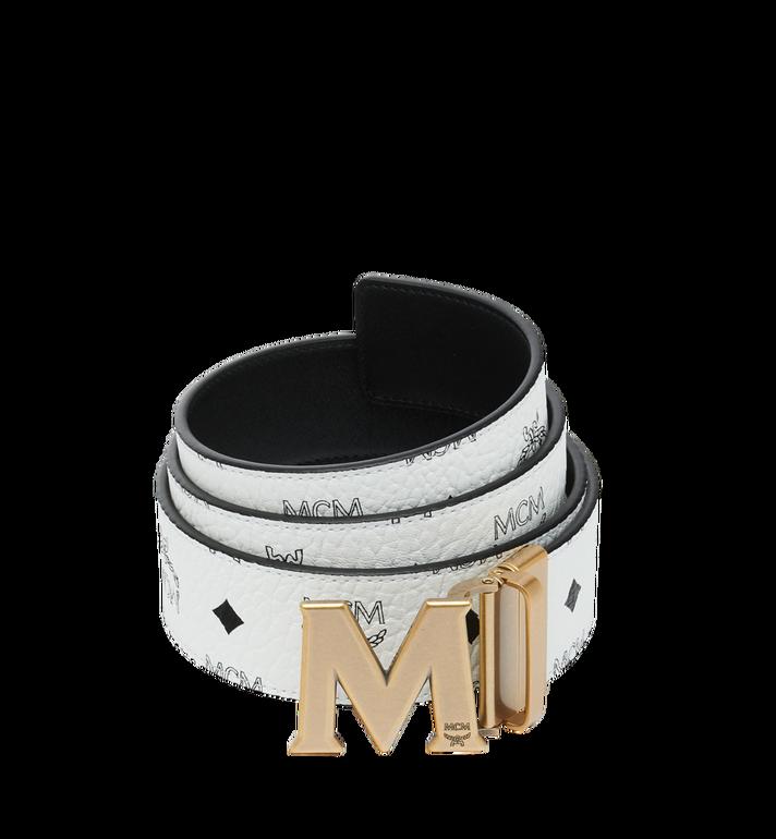 """MCM Antique M Reversible Belt 1.75"""" in Visetos MXB9SVI11WT001 AlternateView"""