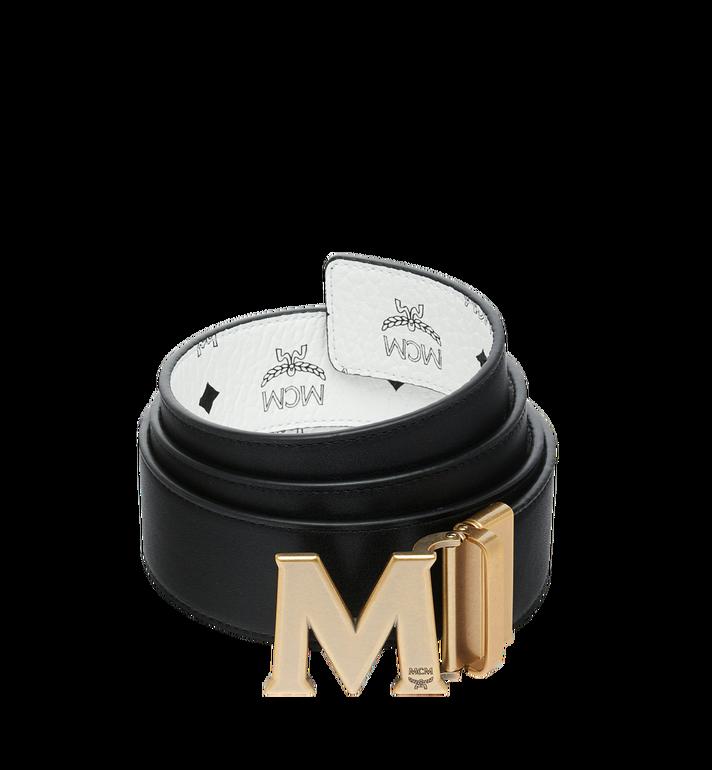 """MCM Antique M Reversible Belt 1.75"""" in Visetos MXB9SVI11WT001 AlternateView2"""