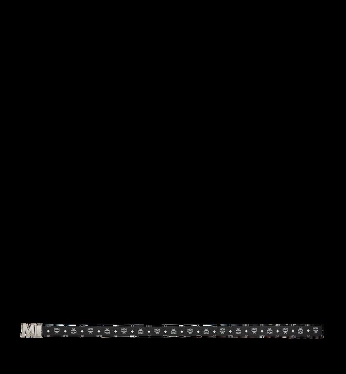 "MCM Antique M Reversible Belt 1.75"" in White Logo  Visetos MXB9SVI14BV001 AlternateView3"