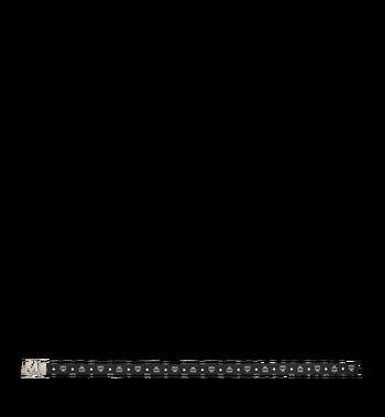 "MCM Antique M Reversible Belt 1.75"" in White Logo  Visetos Alternate View 3"
