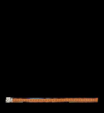 """MCM Antique M Reversible Belt 1.75"""" in Visetos Alternate View 3"""