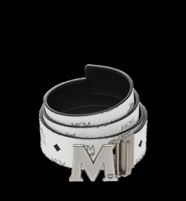 """MCM Antique M Reversible Belt 1.75"""" in Visetos AlternateView"""